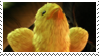 Baby Chocobo Stamp by reikokoro
