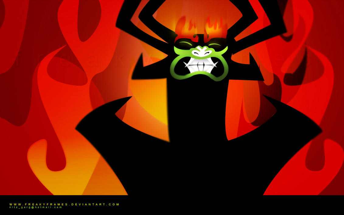 Aku Wallpaper by freakyframes