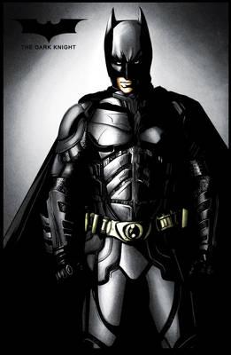 The Dark Knight - colored
