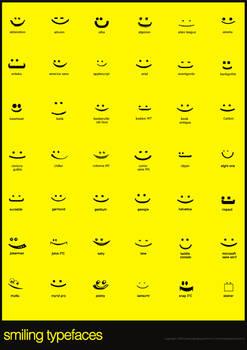 Smiling Typefaces