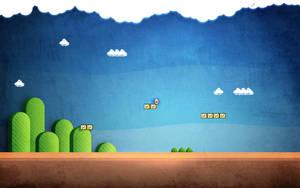 Super Mario Wallpaper by freakyframes