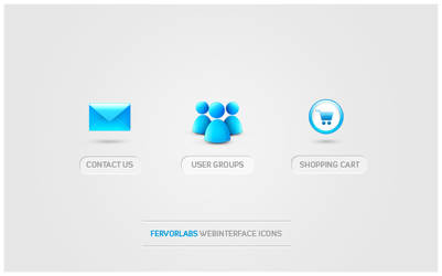 FervorLabs icon set by freakyframes