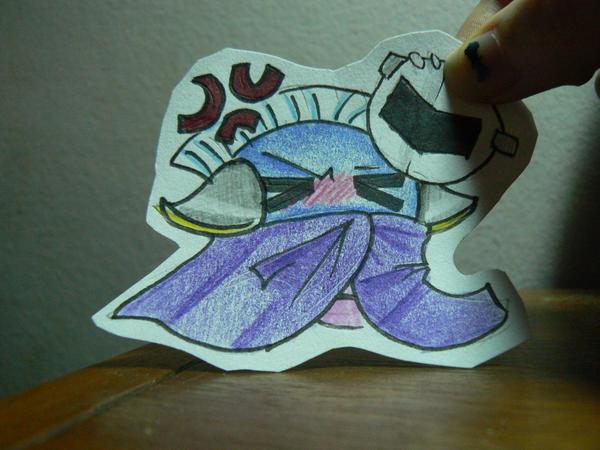 Paper Child: Meta Knight by Koiru