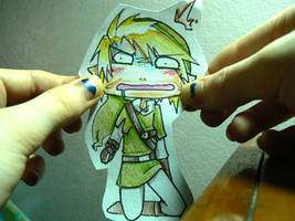 Paper Child: Link by Koiru