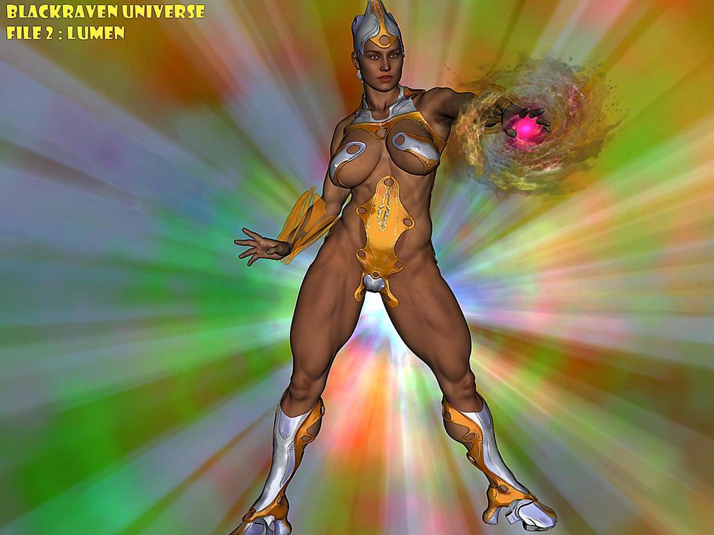 Blackraven Universe File 2 : Lumen by DreamCandice