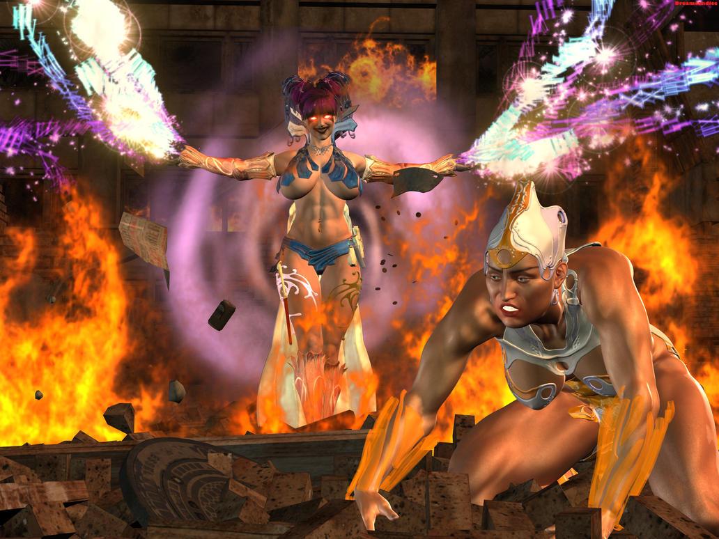 Blackraven Universe Special Versus by DreamCandice
