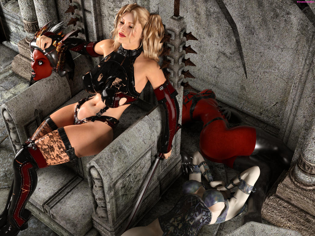 Sofia in the cave of Demona  Part 2 by DreamCandice