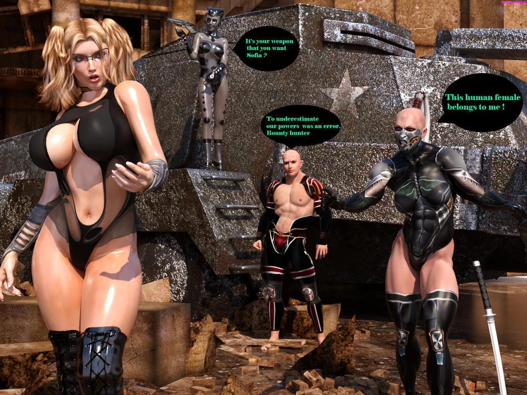 Bounty hunter Sofia : Trapped by DreamCandice