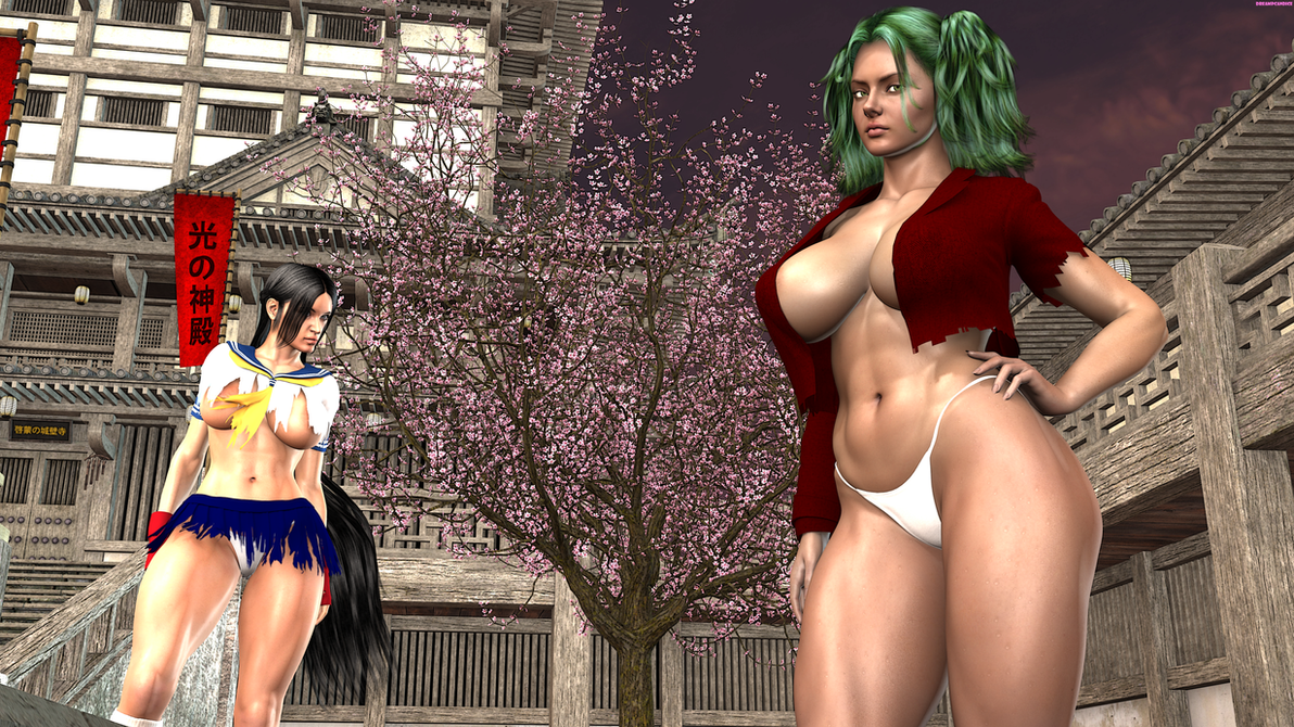 Ikkitousen : Ryofu and Kanu by DreamCandice
