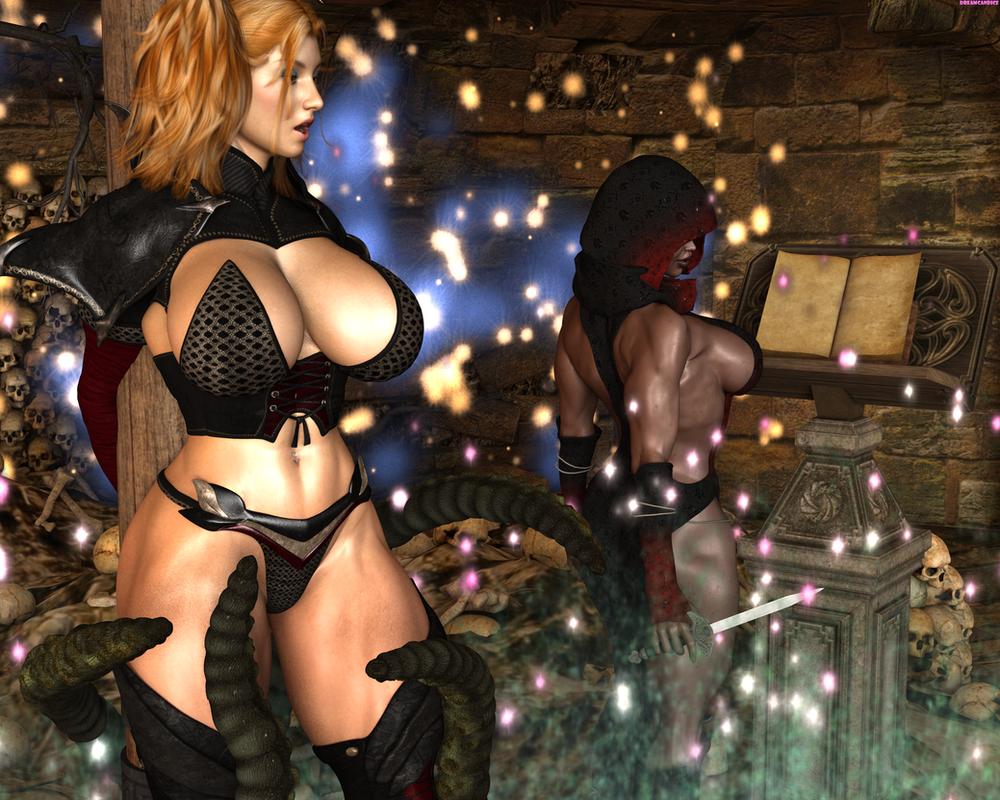 Luscious ritual by DreamCandice