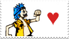 Li'l Franky Stamp by merrowmerrow
