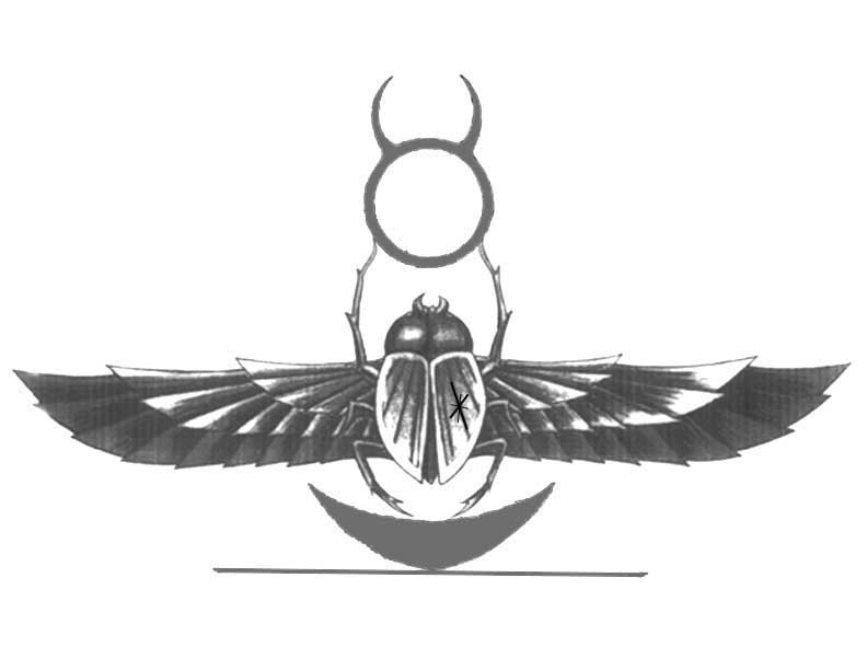 Scarab tattoo by featherthorn on deviantart for Egyptian tattoo flash