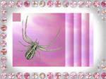 Amethyst Spider Stamp