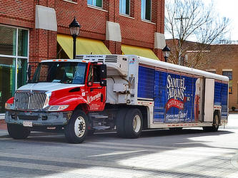 Samuel Adams Beer Truck by Chlodulfa