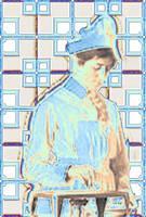 Portrait of a 1918 Nurse by Chlodulfa