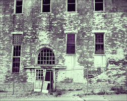 Southern Ohio Lunatic Asylum Facade by Chlodulfa
