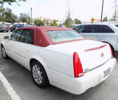 White DeVille Touring Sedan