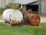 Rusted on an Indiana Farm by Chlodulfa
