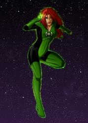 Green Lantern by Sajren91