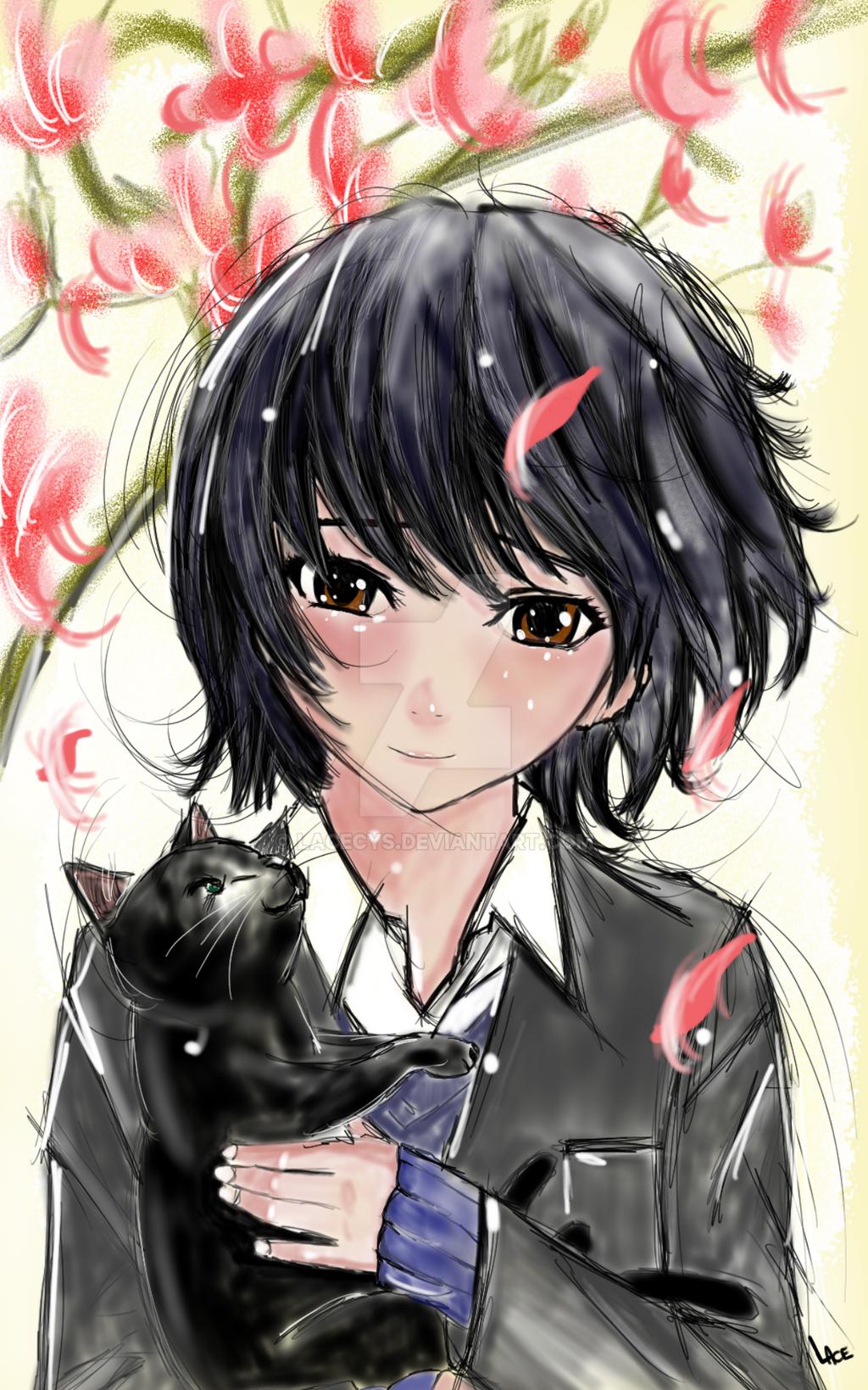 Dessin Fille Style Manga Par Lace By Lacecys On Deviantart