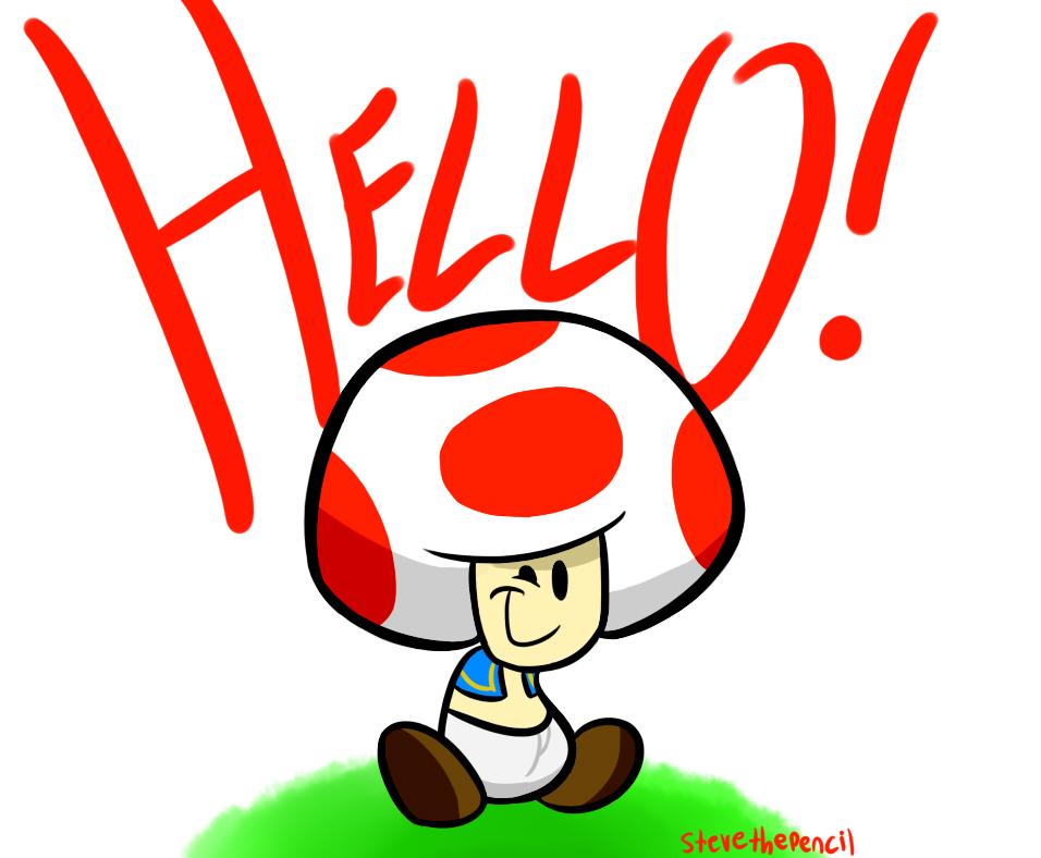 HELLO!!! by Stevethepencil