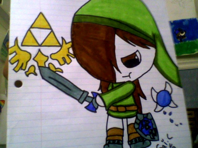 Master Sword Sai by BangieCreatorGirl