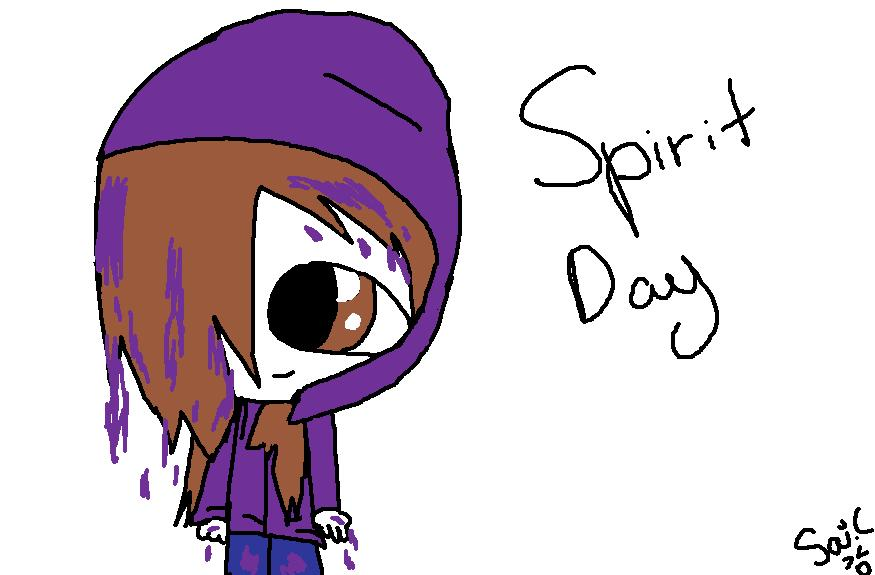 Spirit Day 2012 by Borsaline-Tresbien