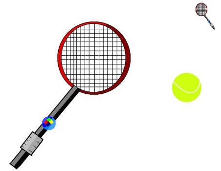 Windows vista tennis racket