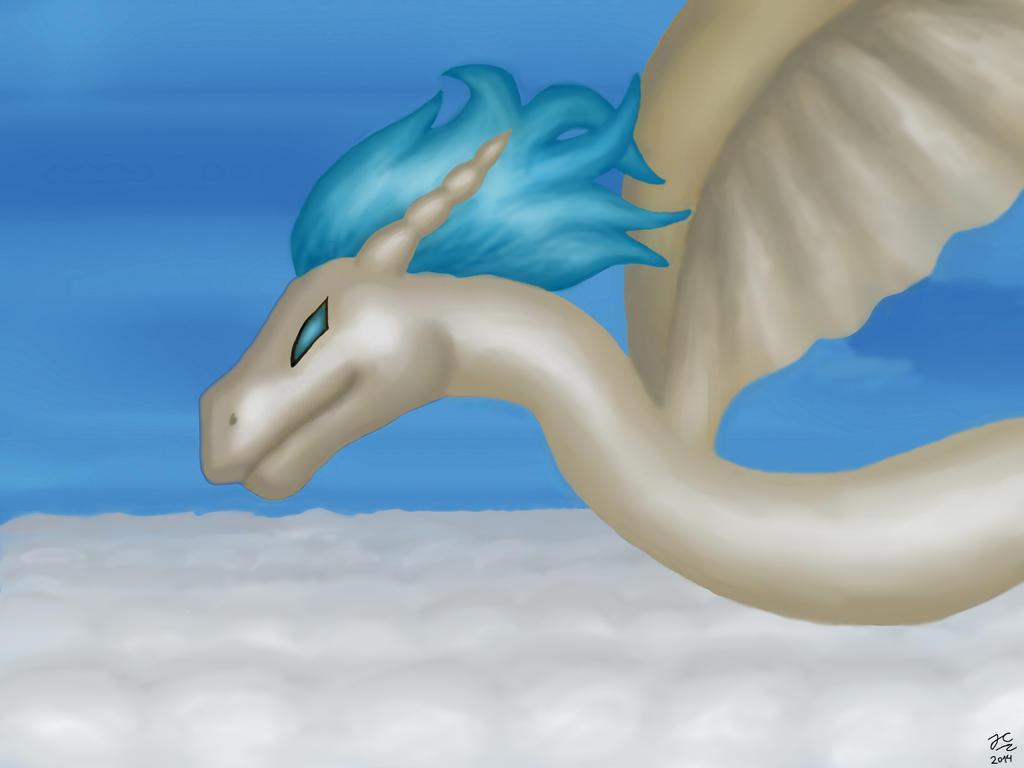 Dragon de los cielos by Cielodemar
