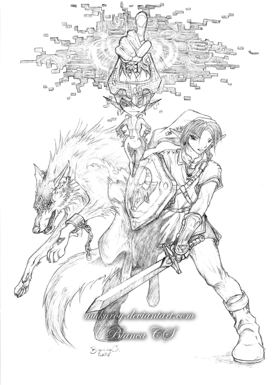 Zelda Twilight Princess Fanart By Mukuroy On Deviantart