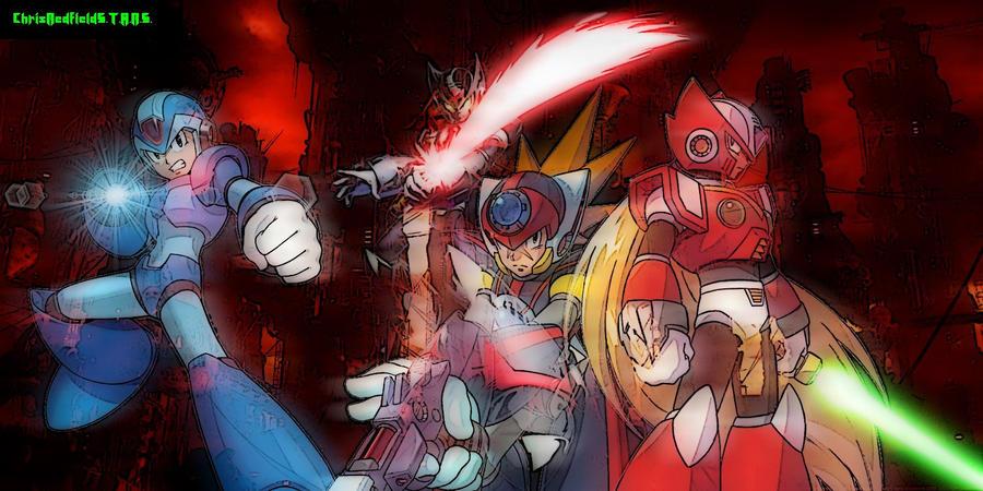Megaman Zero Omega 2nd Form