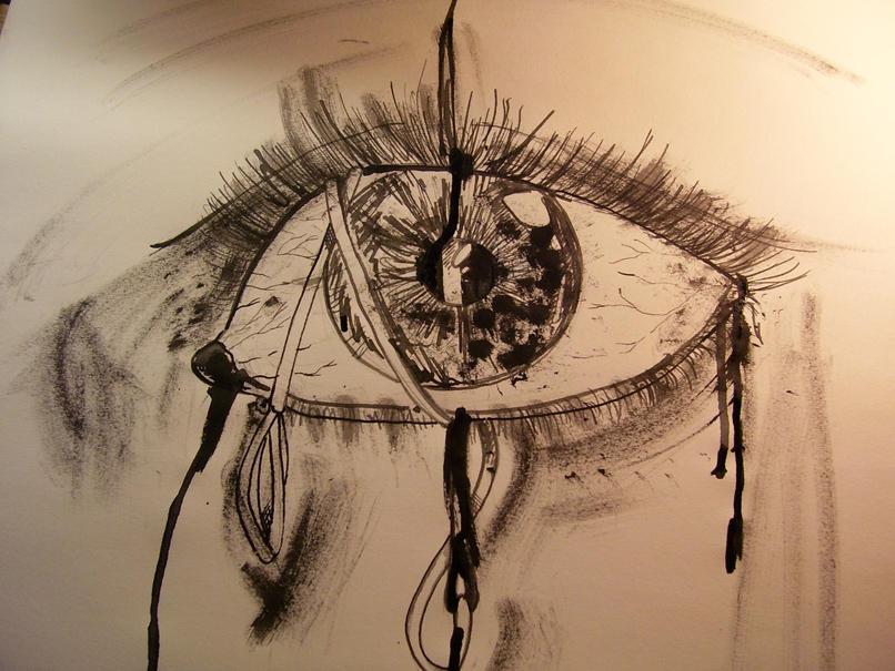 Eyes sewn shut by Pnkfaerie on DeviantArt