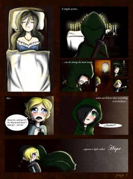 Diary of princess: Page 1