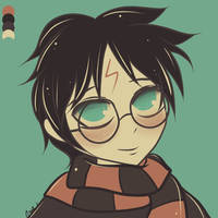 Palette challenge 76 Harry Potter by G3N3