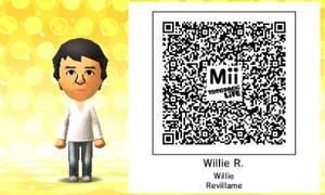 Mii QR Code - Filipino - Willie Revillame