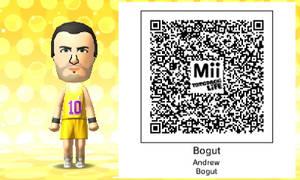 Mii QR Code - NBA - Andrew Bogut
