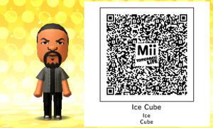 Mii QR Code - Ice Cube
