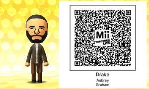 Mii QR Code - Drake