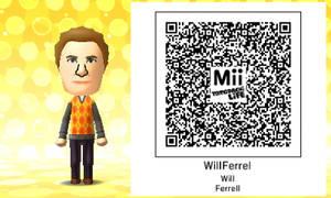 Mii QR Code - Will Ferrell