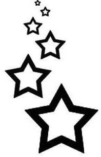 star tattoo 3 by mirritakino on deviantart. Black Bedroom Furniture Sets. Home Design Ideas