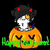 happy halloween journal header twixx by techno-tuna