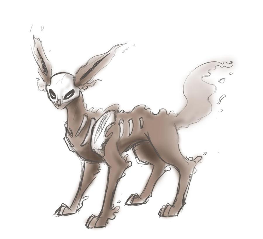 Ghost Type Eevee Pokemon Images | Pokemon Images