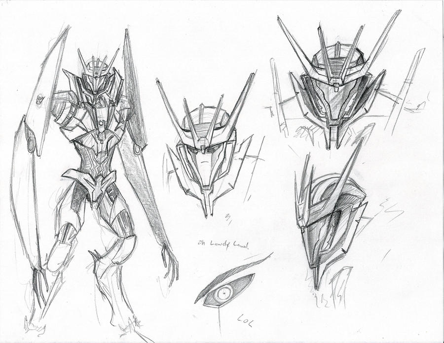 TFP Soundwave Sketches by D34tHn0Te
