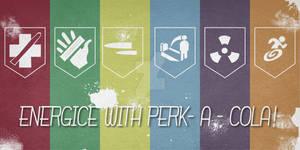 Perk - a - cola poster