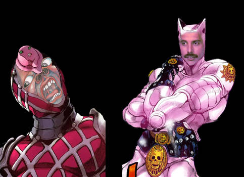 JOJO KILLER QUEEN KING CRIMSON