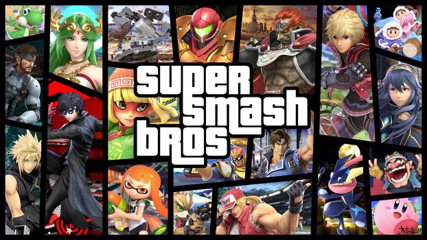 Super smash bros GTA style