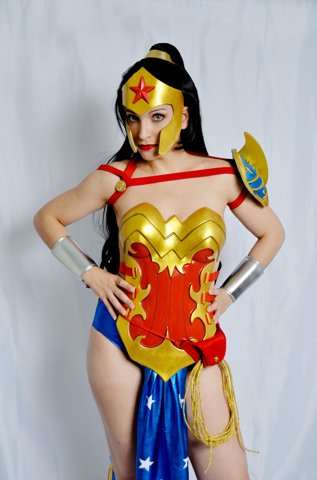 I am Wonder Woman. by S-Lancaster