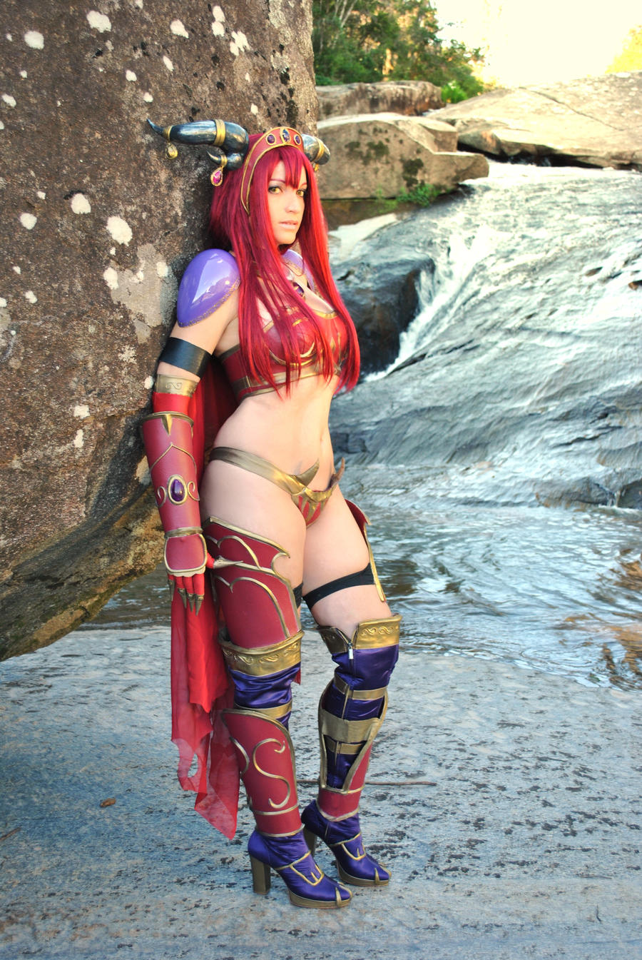 Alexstrasza girl sexy photo