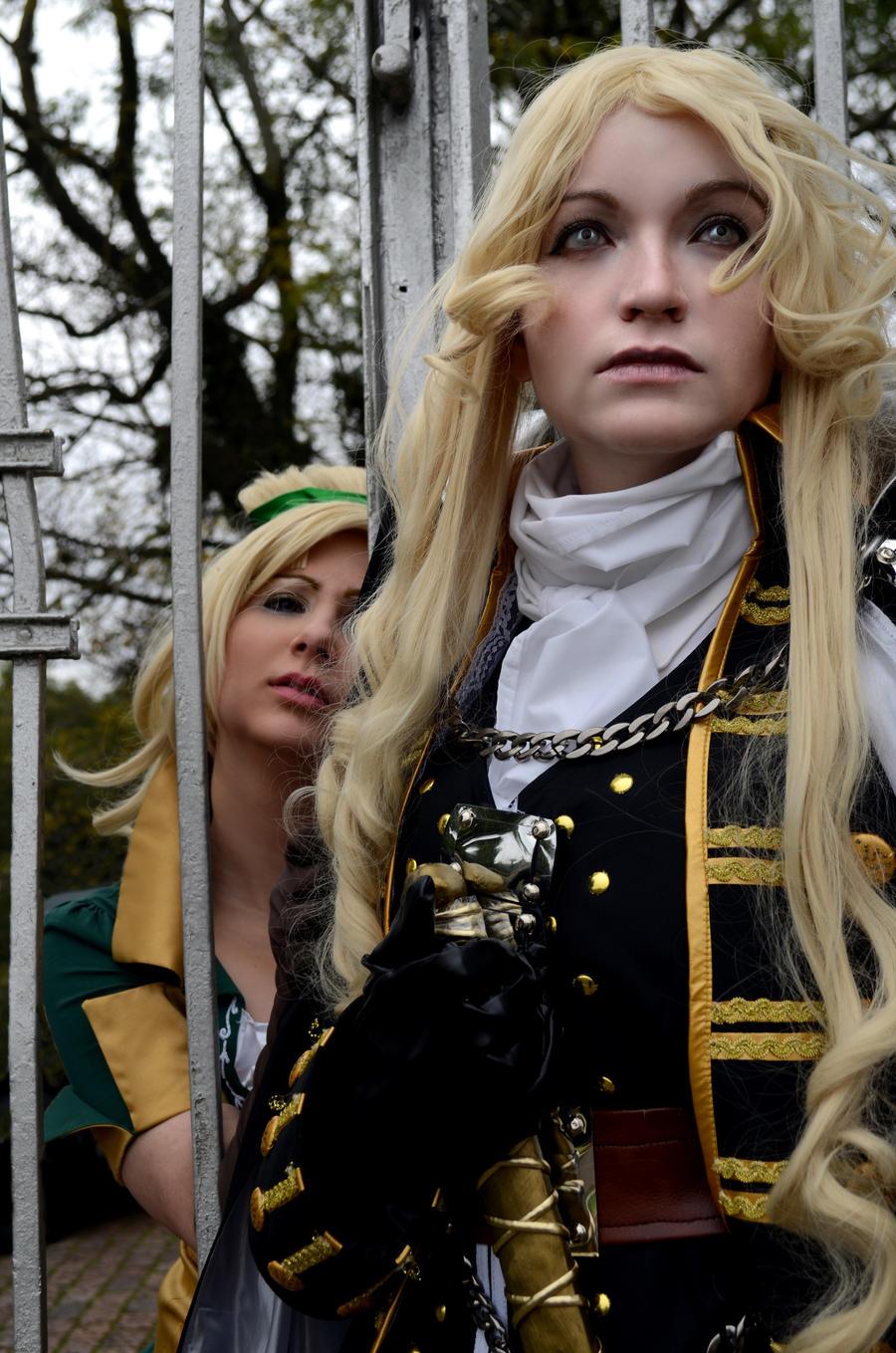 Don't go, Alucard! by S-Lancaster