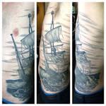 rough seas by Doctah-Jones
